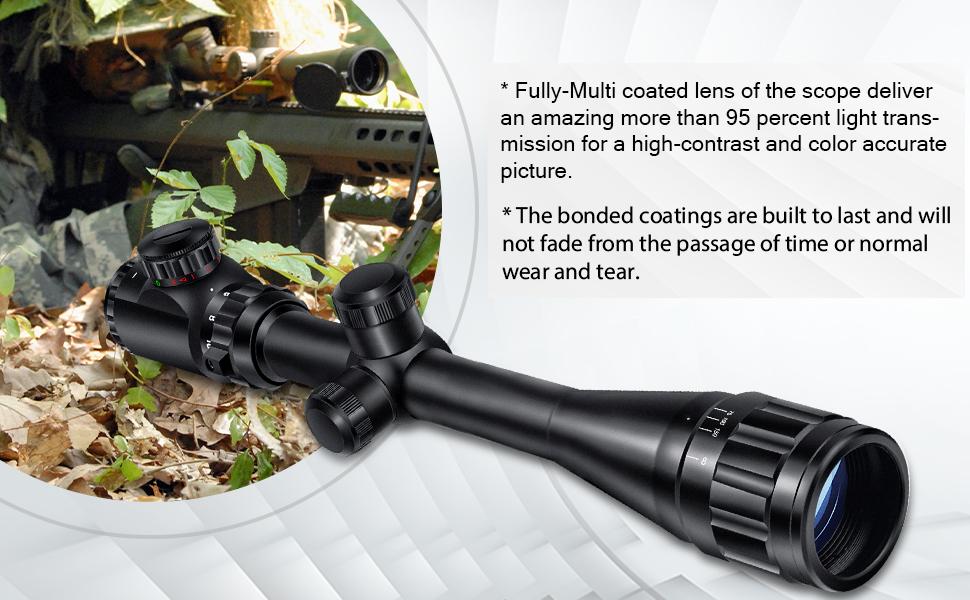 6-24x50 rifle scope