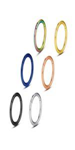 6 pack body piercing ring