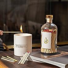 benevolence la white matte soy wax essential oil candles