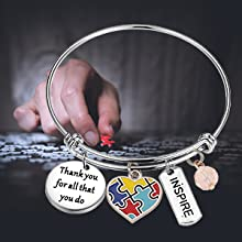 You/'ve Got This Hand Stamped Cuff Bracelet Autism Positive ThinkingGiftNever Give UpAutism Mom Special GiftStrengthI/'ve Got this