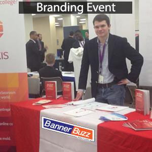 branding event table runner