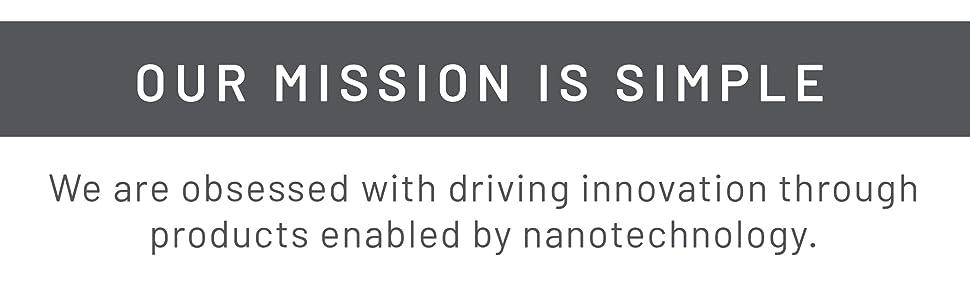 mission, nanofilm, nanofilm mission, lens cleaner