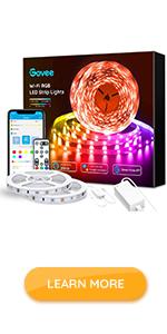 65.6ft led strip lights alexa wifi