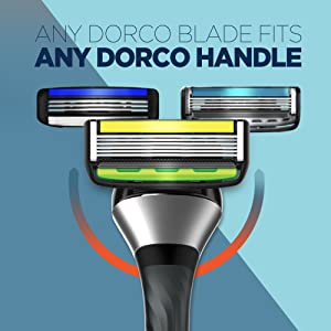 Any DORCO blade fits any DORCO handle