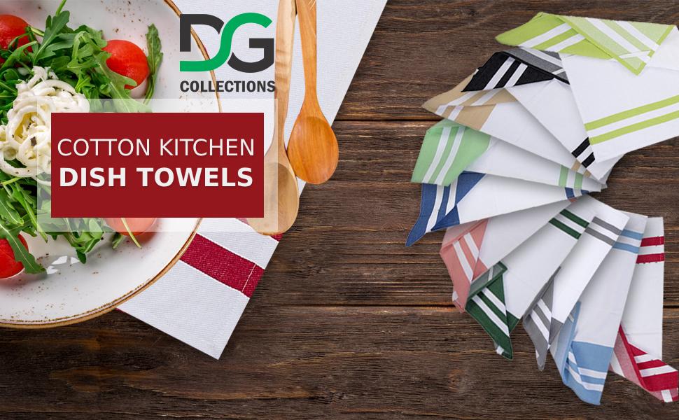 DG Collection Kitchen Cotton dish napkin towel SPN-DCON