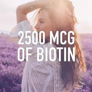 Sports Research Biotin 2500mcg