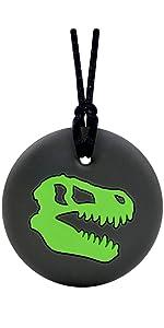 Dino Skull Green