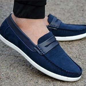 blue loafer men