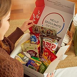 Korean snack box gift