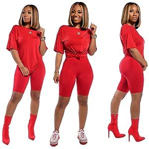 red 2 piece set