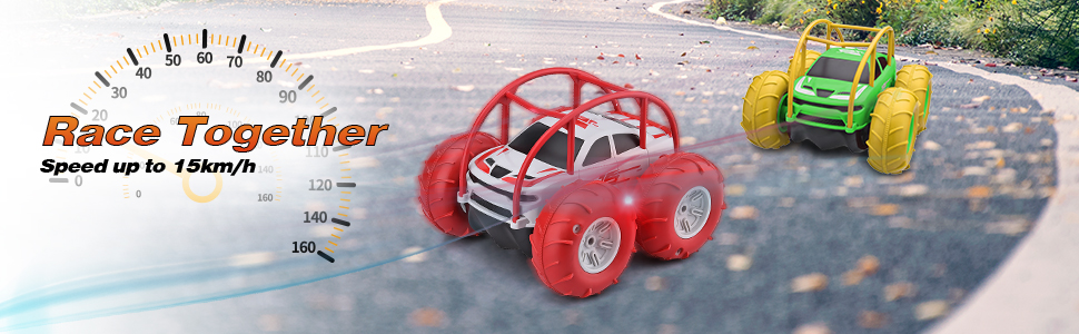 Race together remote control electric car
