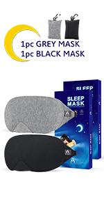sleep mask 2pc