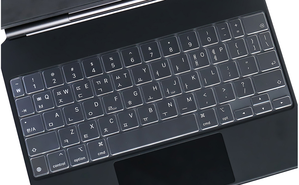 Ultra Thin Keyboard Cover Skin for iPad Pro 11 inch 2020