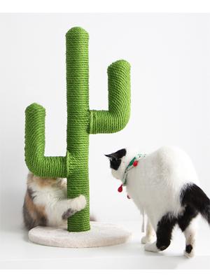 BingoPaw Poste Rascador para Gatos, Árbol de Sisal para Felinos, Árbol Trepador para Gatos con Forma de Cactus, 29 x 49.5cm: Amazon.es: Productos para mascotas