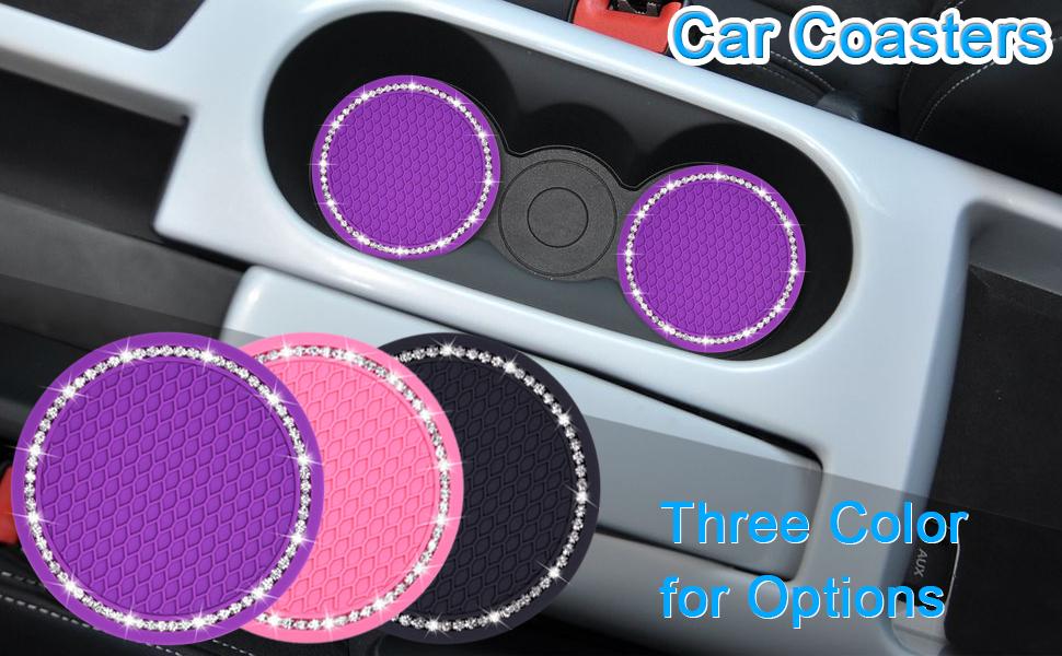 Bling Car Coasters