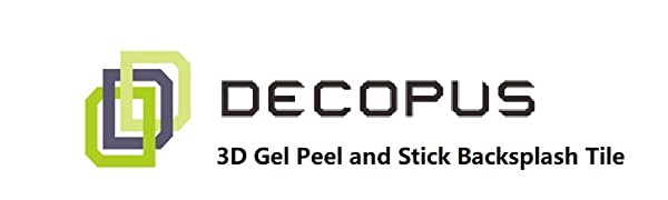 Logo with 3D gel