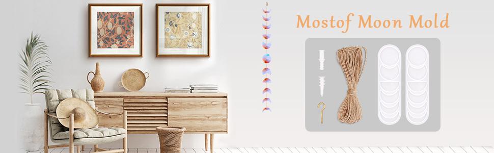 resin mold moon