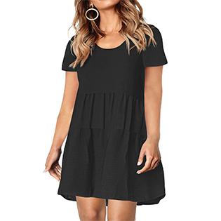 plus size babydoll dress