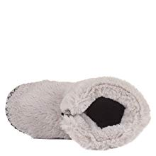 Bedroom Athletics Womens Faux Fur Slipper Boot