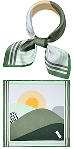 """21"""" Mulberry Silk Square Scarf"""