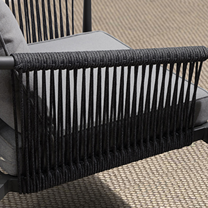 patio conversation set,patio seating sets with cushions,outdoor conversartion set 4 pieces rope
