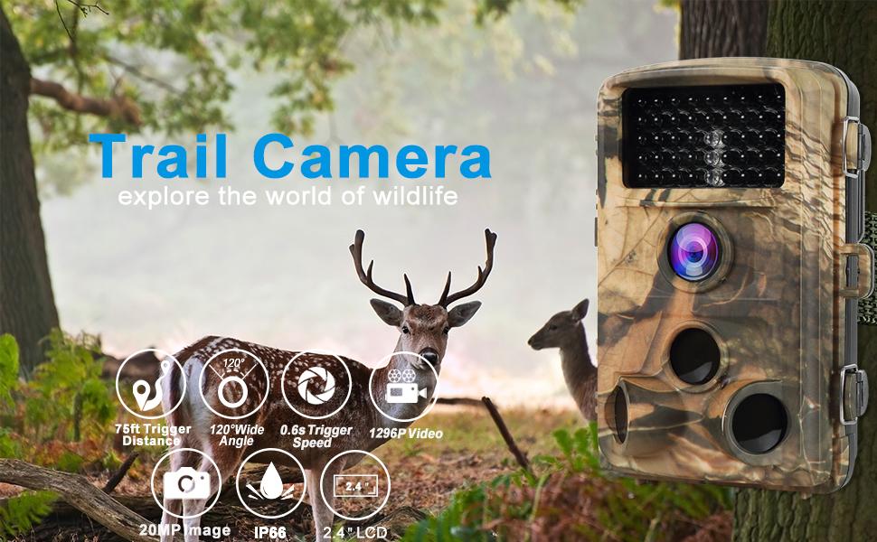 Agitato Trail Camera