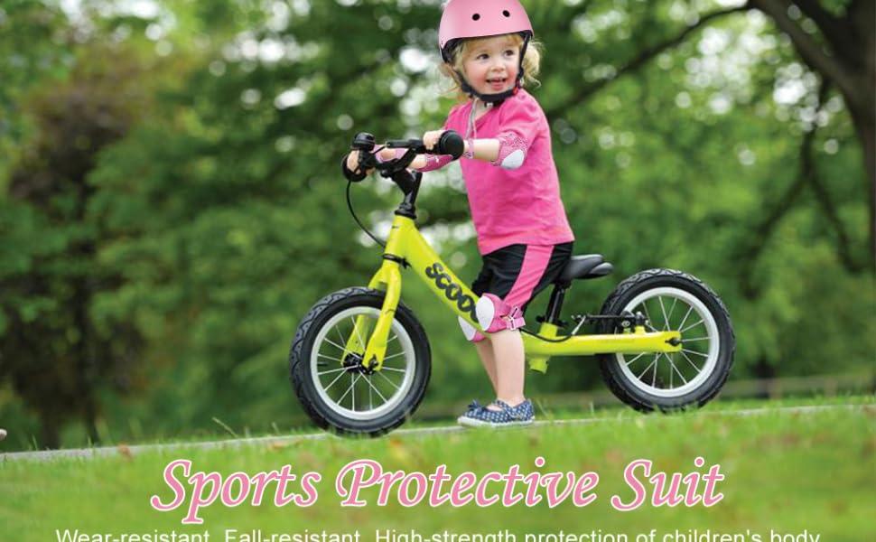 helmet elbow knee pads