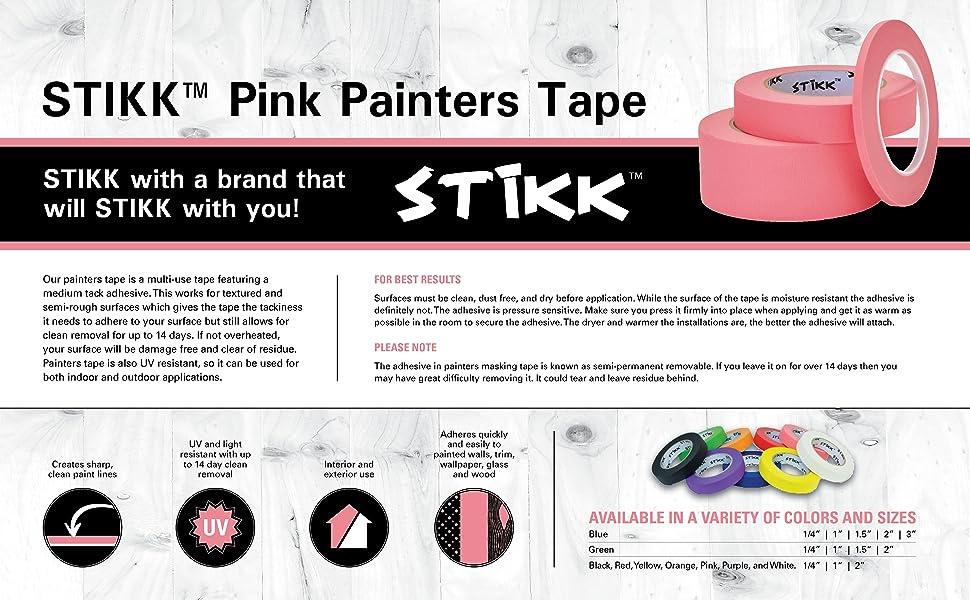 Pink Painters Tape Description Page