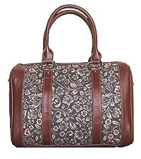 ikat wave handbag for women