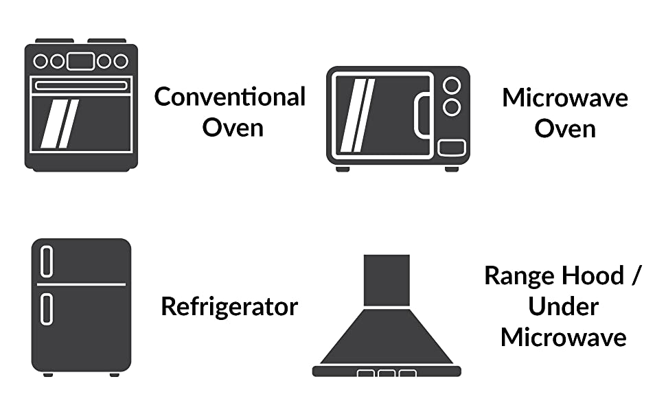 simba lighting t8 light bulb applications conventional oven microwave refrigerator range hood under