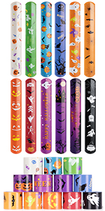 Slap Bracelets Halloween Party Favors