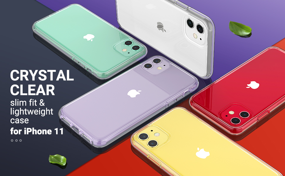 iphone 11 clear case lightweight cases for iphone11 phone protective cover anti yellow bumper skin