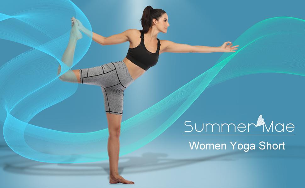 women yoga short