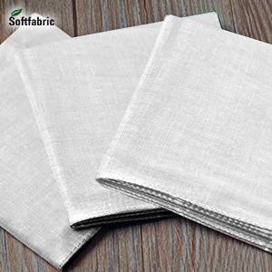 Cotton Handkerchiefs Large Pocket Squares Hankies for men