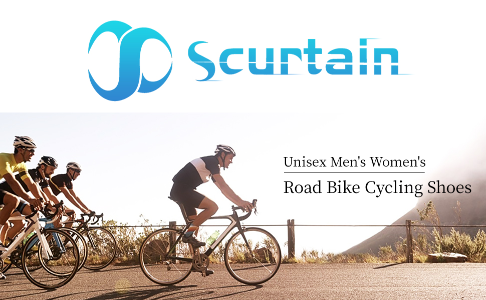 SCURTAIN MEN'S WOMEN'S ROAD BIKE CYCLING SHOES