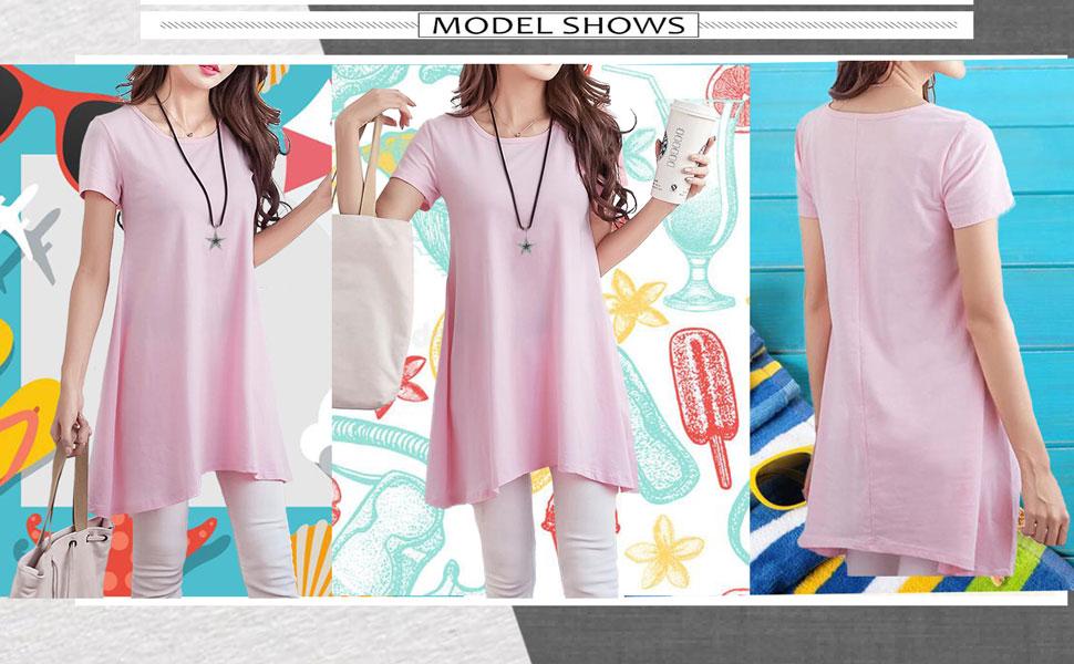 summer tunics for women