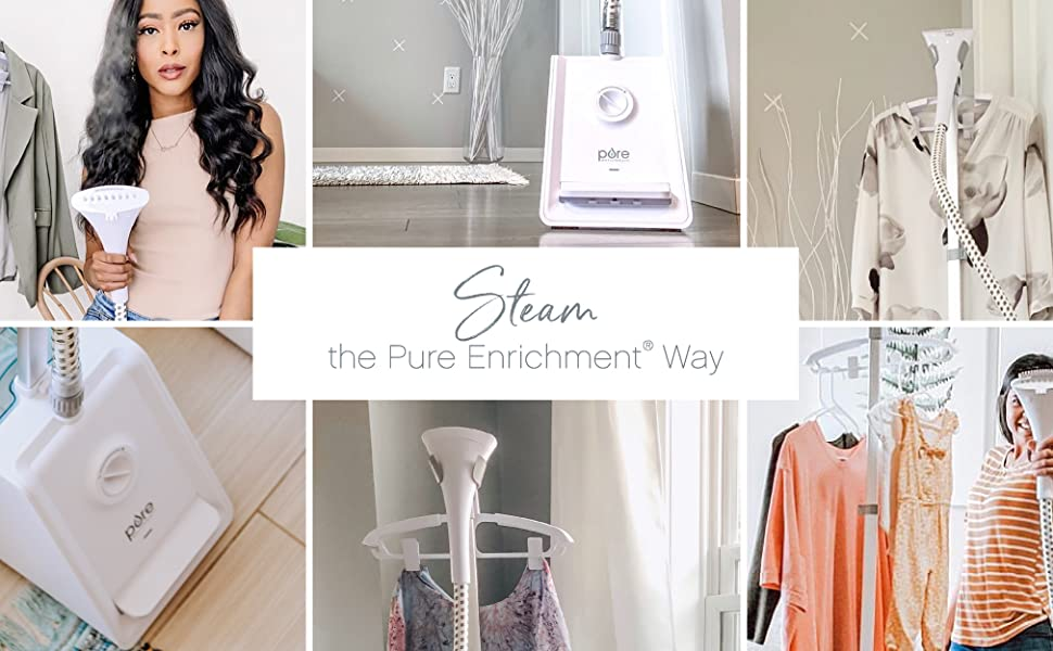 PureSteam Pro Upright Clothes Steamer