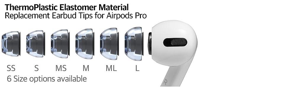 AZLA XELASTEC Airpods Pro eartips