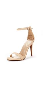 women's Fashion Stilettos Open Toe Pump Heel Sandals