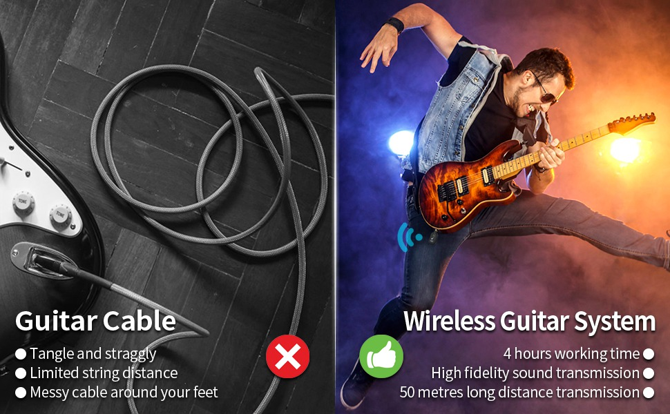 traditional guitar cable