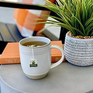 Avocado Leaf Tea on Front Porch