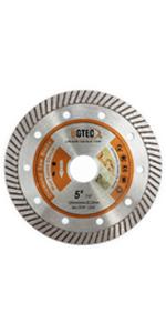 "BGTEC Diamond Tile Blade 4"" Super Thin Turbo Rim"