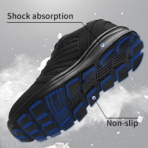 shock absorption non-slip safety shoes
