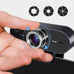 webcam auto foucs