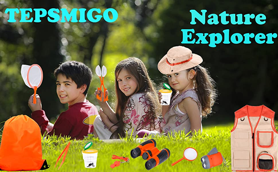 kid explorer kit outdoor adventure toys