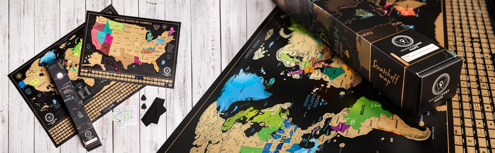 Dos Mapas De Rascar - Mapa Mundi Rascar Y Mapa Estados Unidos ...