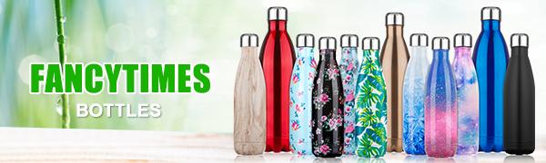 /Borraccia Termica Eco Friendly Thermos a Doppia Parete in Acciaio Inox 18//8/Bottle-Acqua 4/Taglie in 5/Colori PX Home/