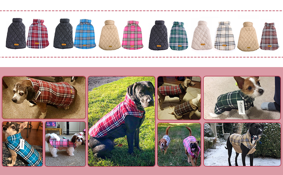 dog coat waterproof windproof vest jacket