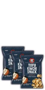 paldo snack tofu kimchi chips