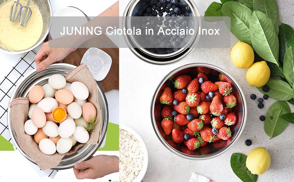 Juning Ciotola in Acciaio Inox